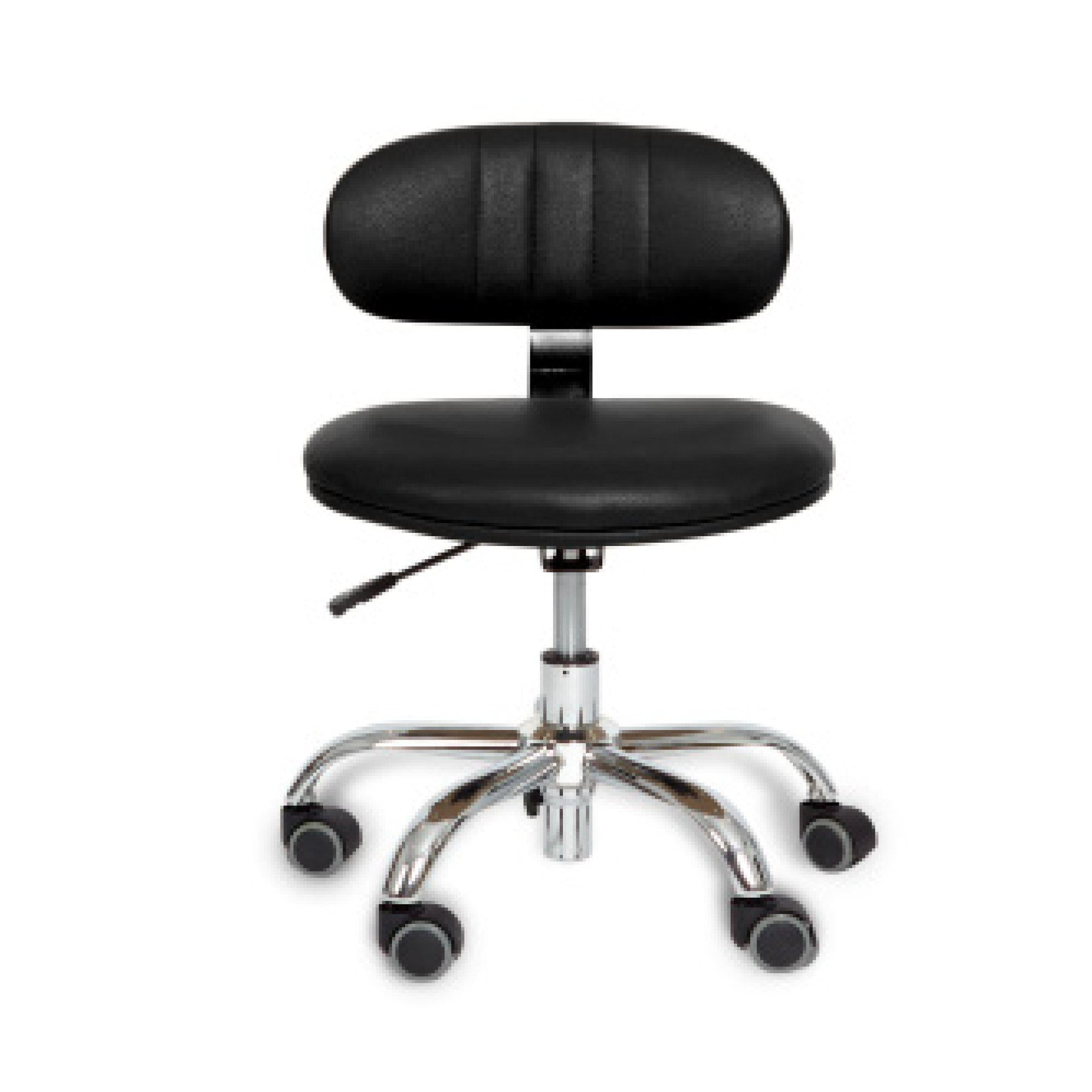 J & A - M Pedicure Technician Stool - Superb Nail Supply