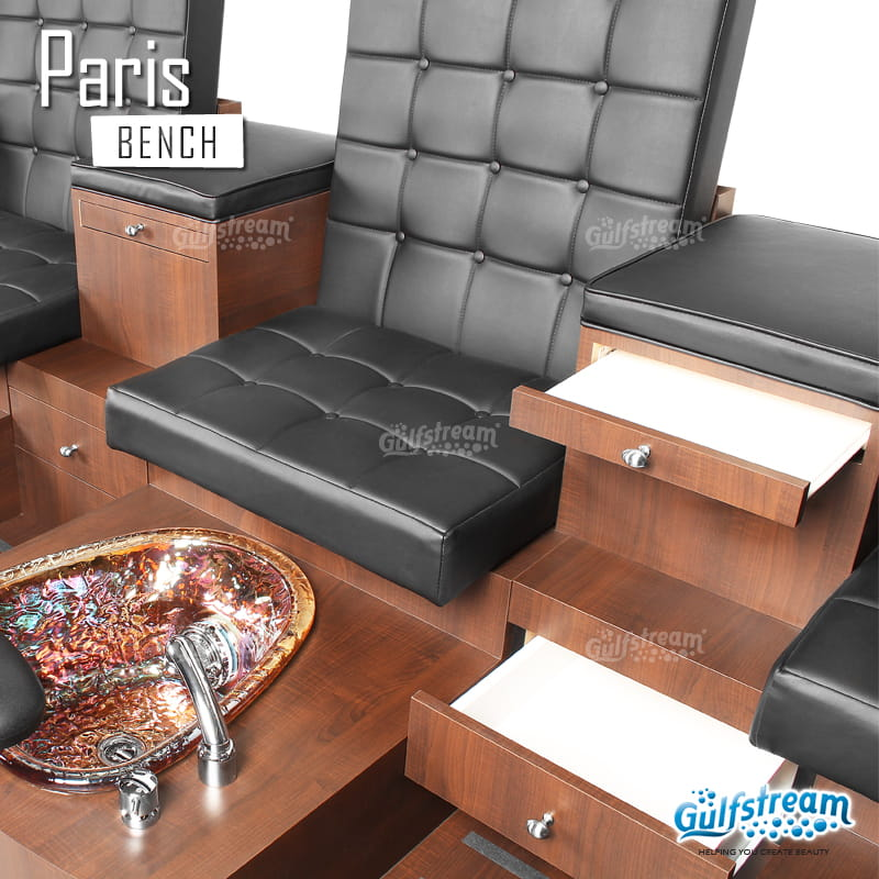 Gulfstream - Paris Triple Bench Pedicure Spa