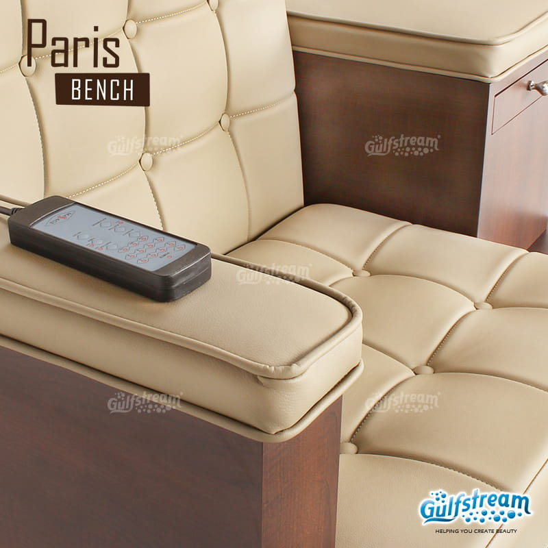 Gulfstream - Paris Double Bench Pedicure Spa