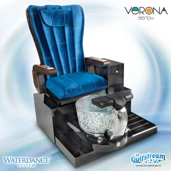 Gulfstream - Verona Single Bench Pedicure Spa
