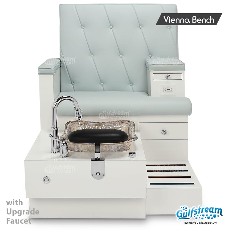 Gulfstream - Vienna Single Bench Pedicure Spa