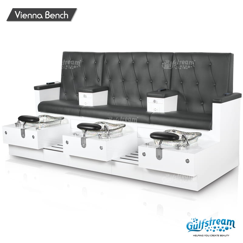 Gulfstream - Vienna Triple Bench Pedicure Spa
