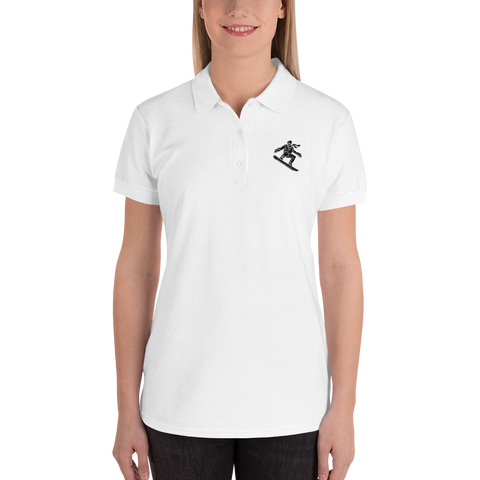 Customizable Women's Embroidered Polo | Gildan 82800L