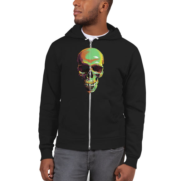 Customizable Unisex Zip Up Hoodie Sweater | Bella +