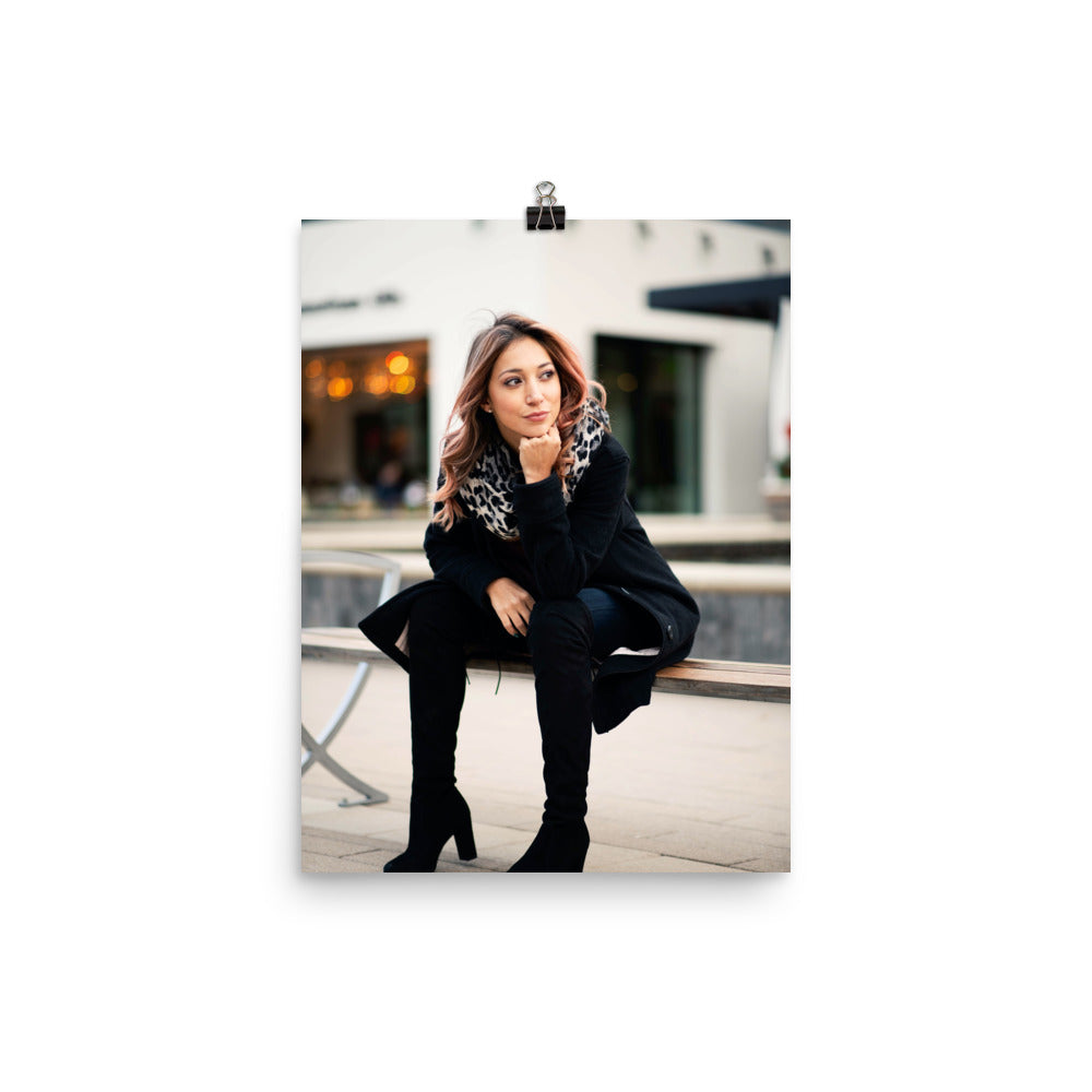 Customizable 12x16 Premium Luster Photo Paper Poster (In)