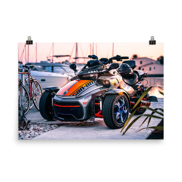 Customizable 24x36 Premium Luster Photo Paper Poster (In)