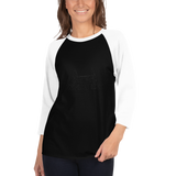 Customizable Unisex 3/4 Sleeve Raglan Shirt | Tultex 245