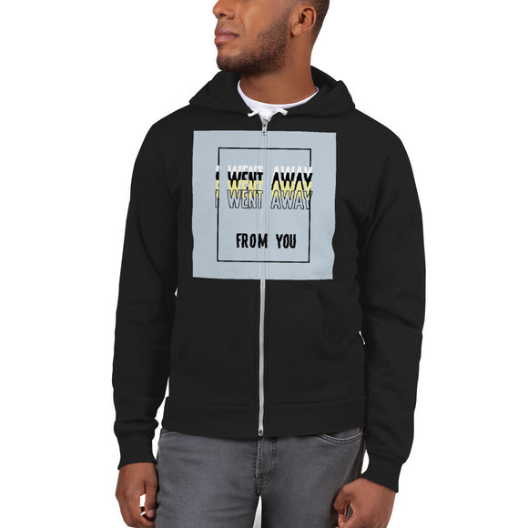 Customizable Unisex Zip Up Hoodie sweater | American Apparel