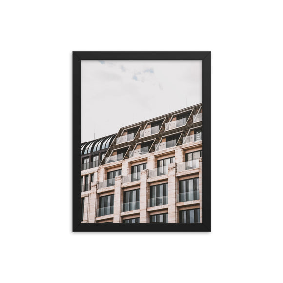 Customizable Premium Luster 12x16 Photo Paper Framed Poster (in)