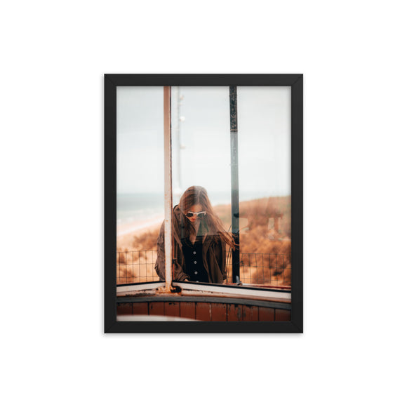 Customizable Enhanced Matte 12x16 Paper Framed Poster (in)