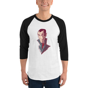 Customizable Men's 3/4 Sleeve Raglan Shirt | Tultex