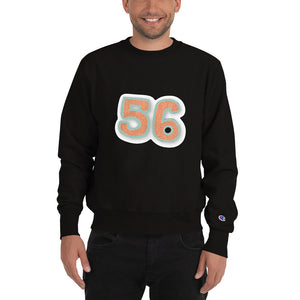 Customizable Unisex Raglan Champion Sweatshirt | American Apparel