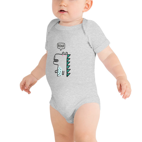 Customizable Baby Short Sleeve One Piece | Bella + Canvas 100B