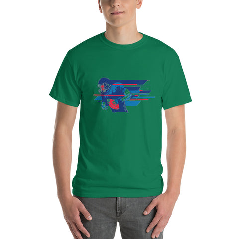 Customizable Men's Classic Short-Sleeve T-Shirt