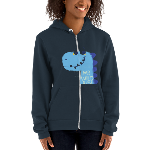 Customizable Unisex Zip Up Hoodie | American Apparel F497W