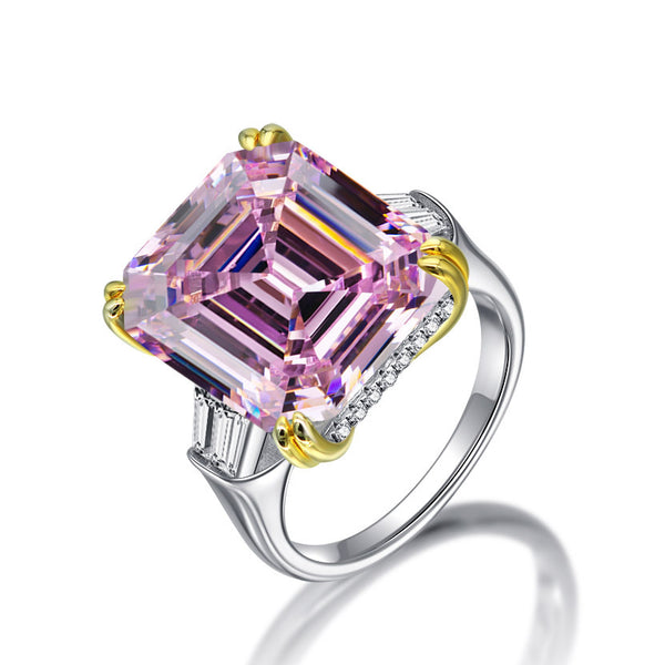Love Asscher-Cut Ring