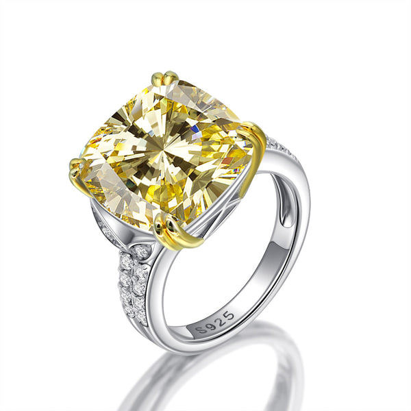 Prosperity Cushion-Cut Ring