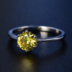 Prosperity Birthstone Ring