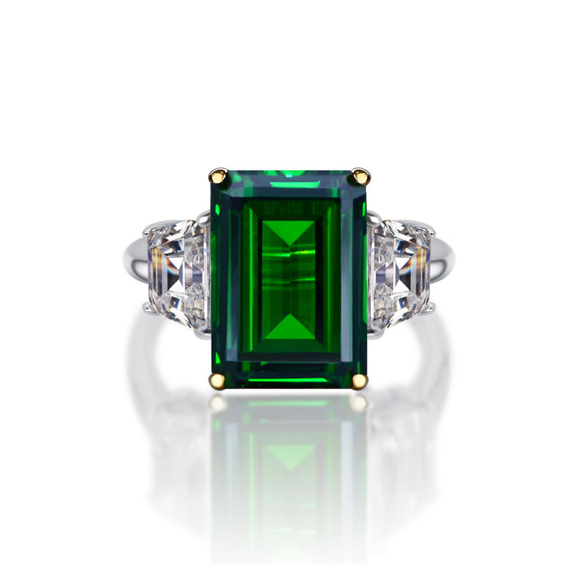Gratitude Emerald-Cut Ring