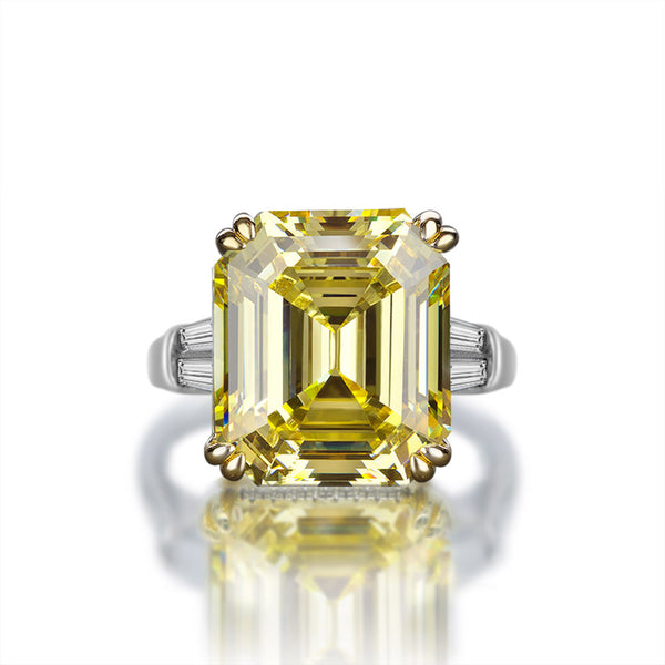 Prosperity Asscher-Cut Ring