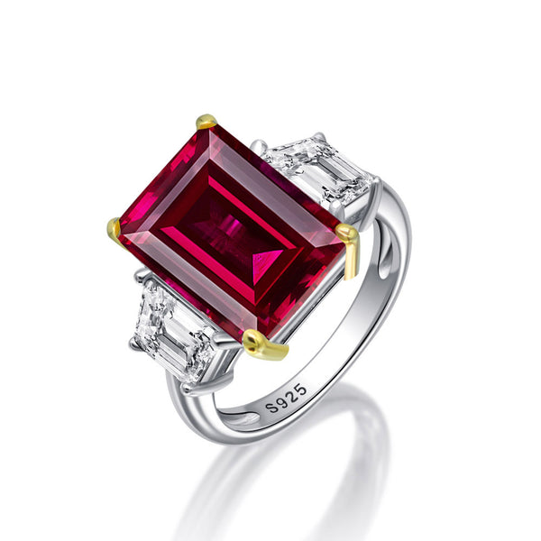 Passion Emerald-Cut Ring