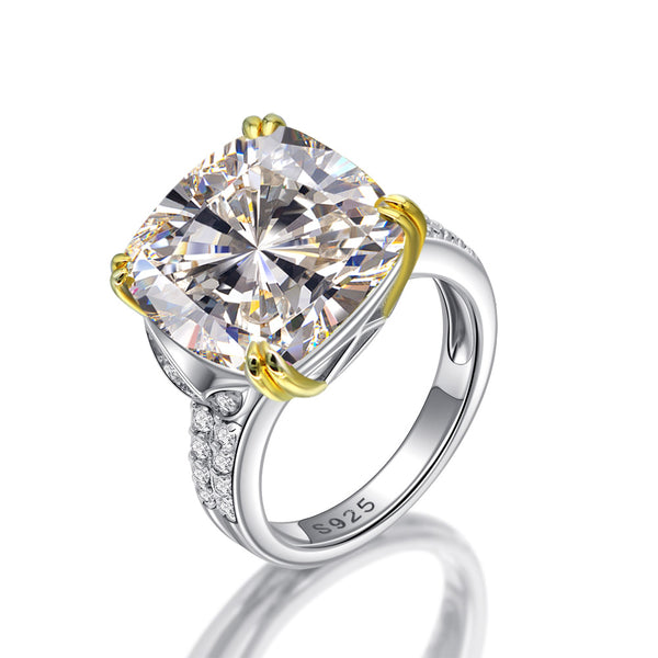 Abundance Cushion-Cut Ring