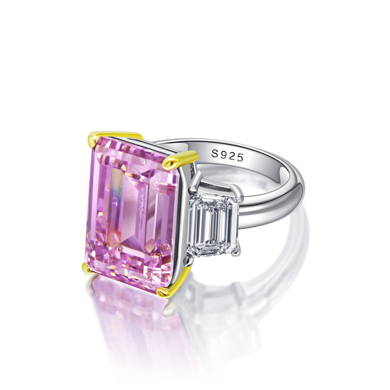 Love Emerald-Cut Ring