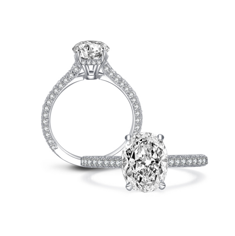 Abundance Moissanite Ring