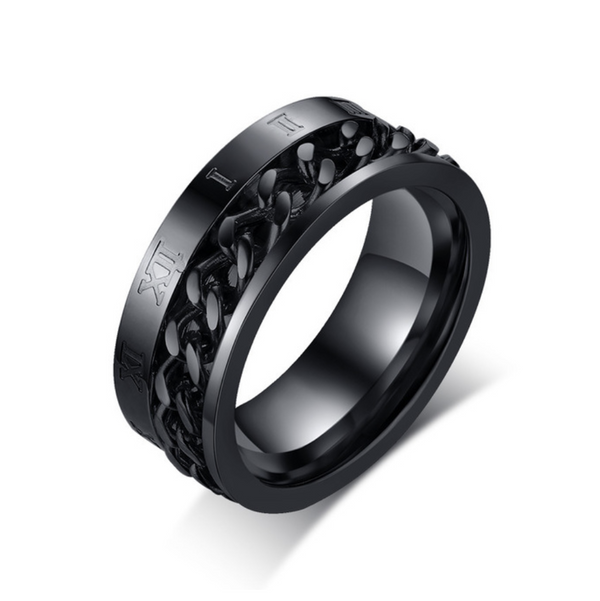 Roman Philosopher Men's Ring