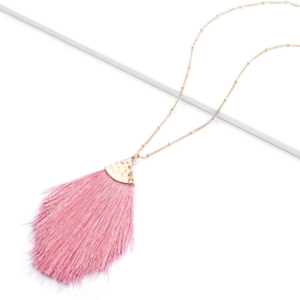 Love Fringe Necklace