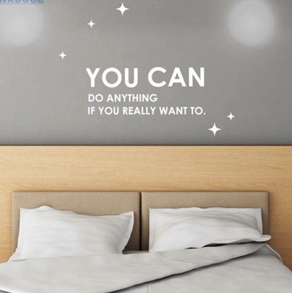 You Can Do Anything Wall Sticker