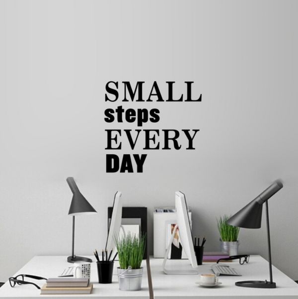 Small Steps Wall Sticker