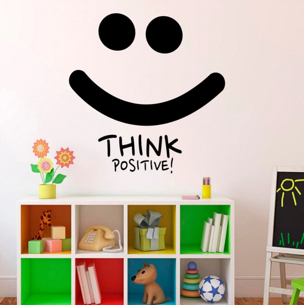 Kid's Think Positive! Wall Sticker