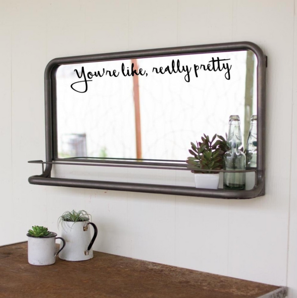 Inspirational Mirror Stickers