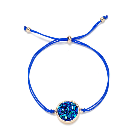 Empowerment Crystal Adjustable Bracelet