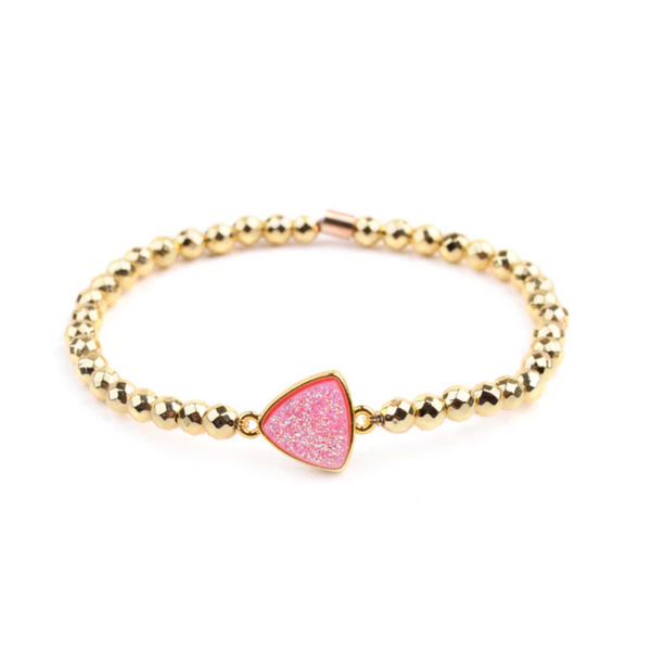 Love Crystal Bead Bracelet