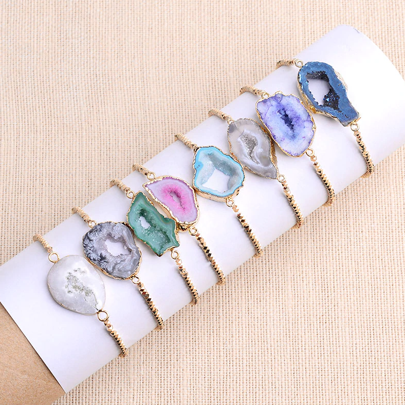Stress Relief Crystal Bracelet