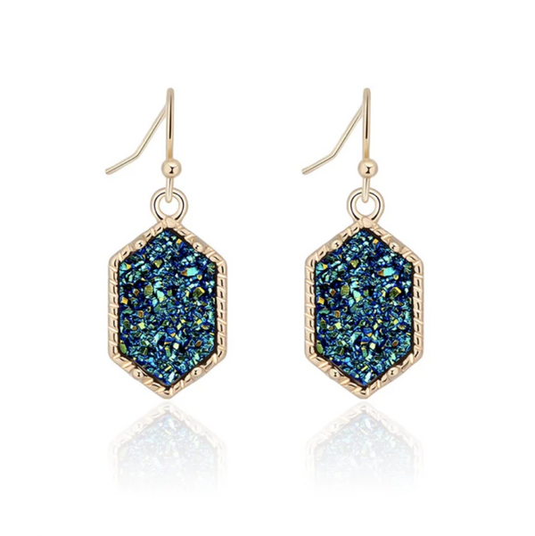 Stability Crystal Earrings