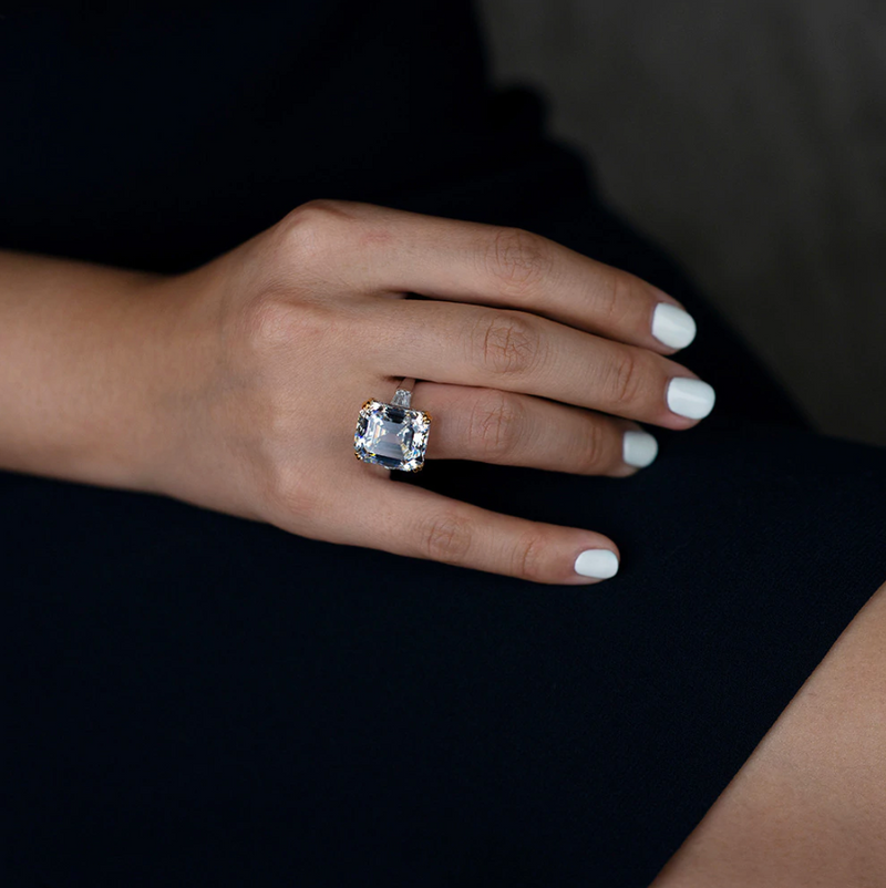 Abundance Asscher-Cut Ring