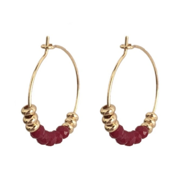 Courage Hoop Earrings