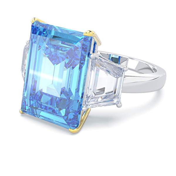Stability Emerald-Cut Ring (SOLD OUT)