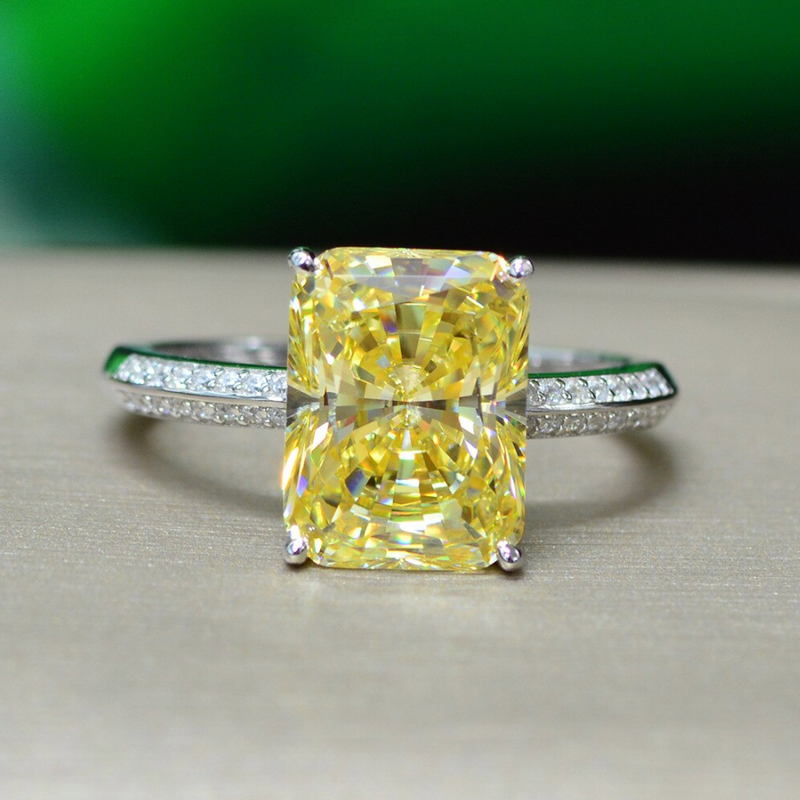 Prosperity Radiant-Cut Ring