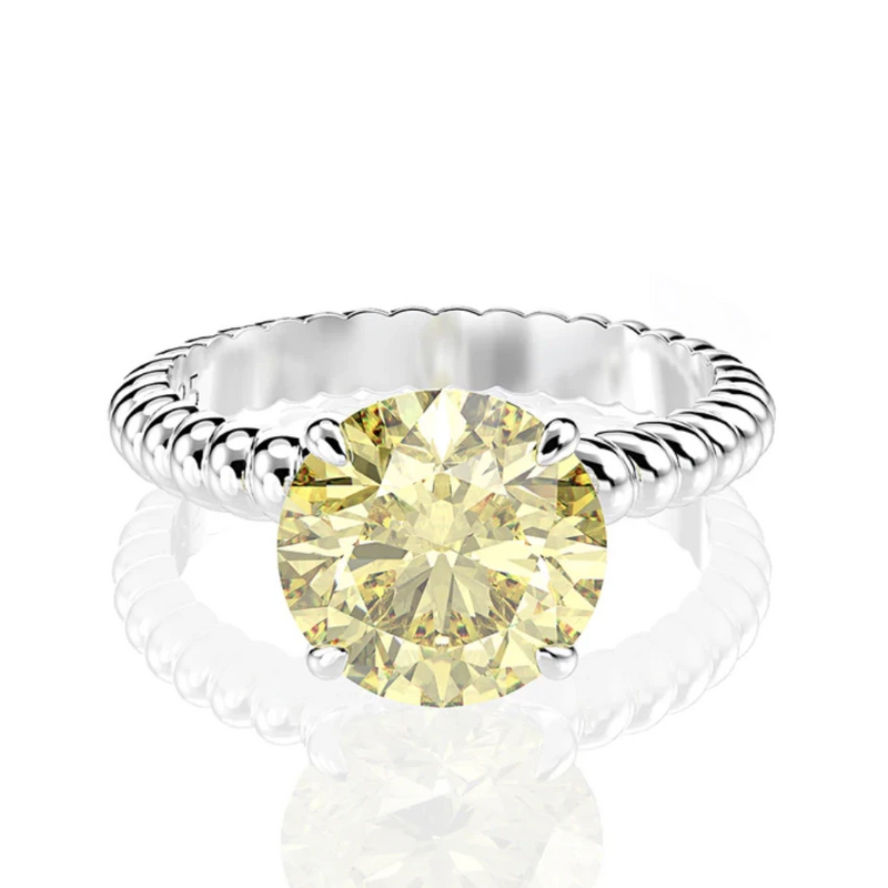 Prosperity Round Twist Ring