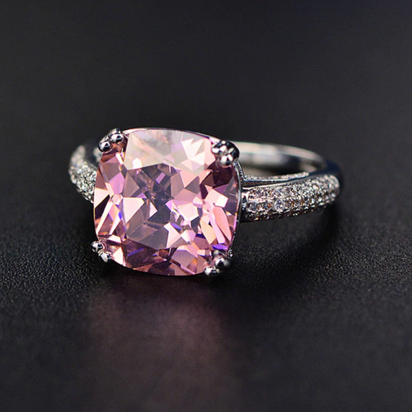 Love Cushion-Cut Ring (SOLD OUT)