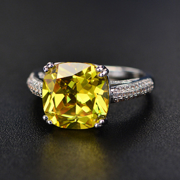 Prosperity Cushion-Cut Ring (SOLD OUT)