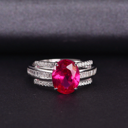 Passion Oval-Cut Ring