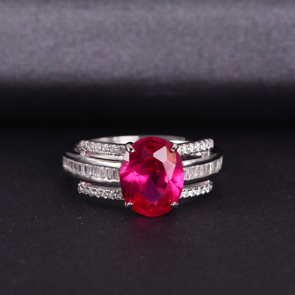Passion Oval-Cut Ring (SOLD OUT)