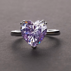 Stress Relief Heart Ring