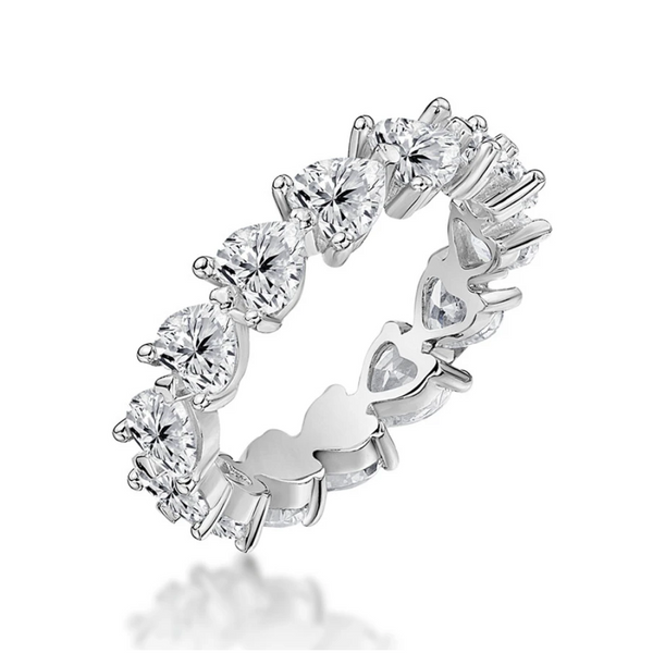 Abundance Heart Ring Band