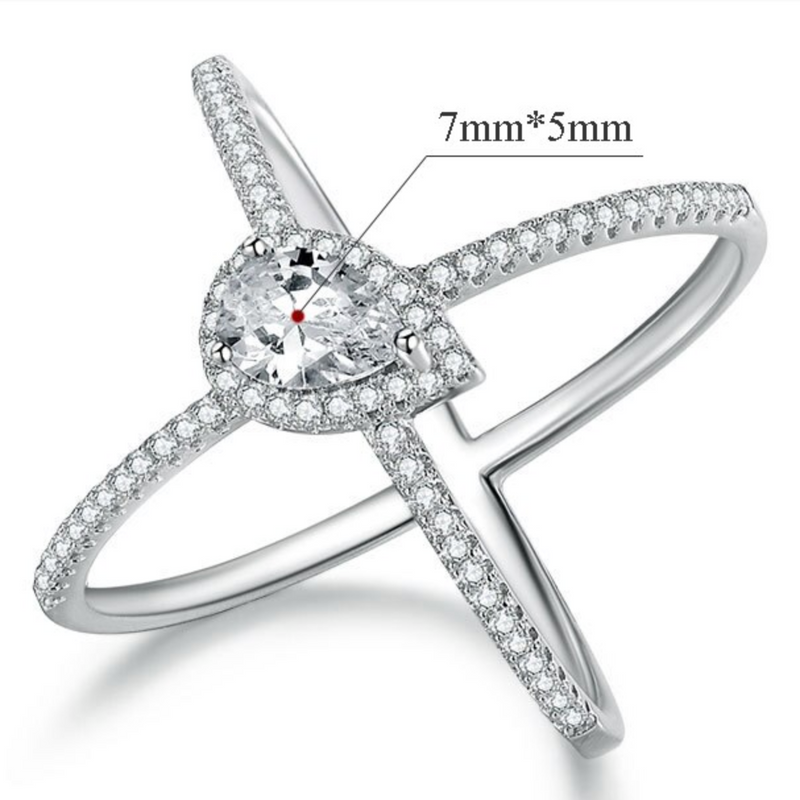Abundance Cross Ring